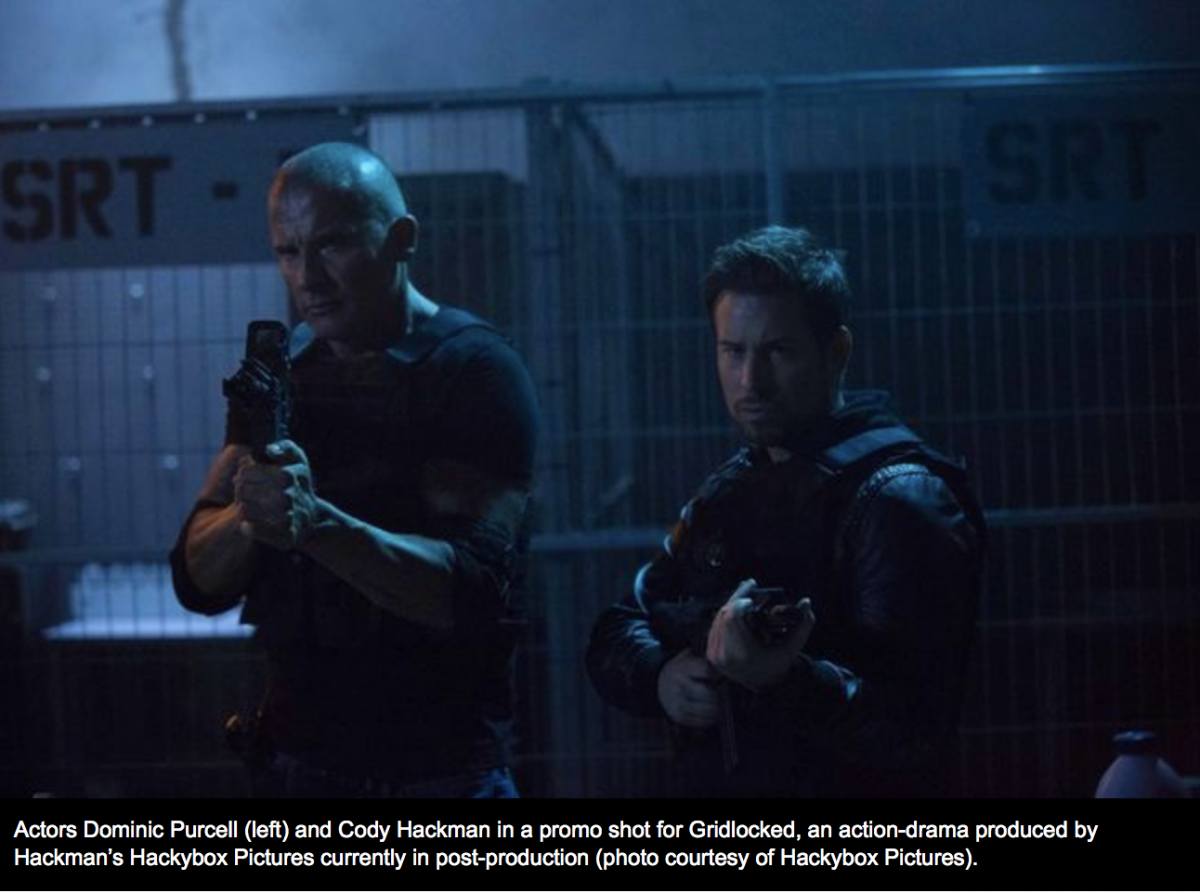 New Canadian action film Gridlocked releases in North America Tuesday